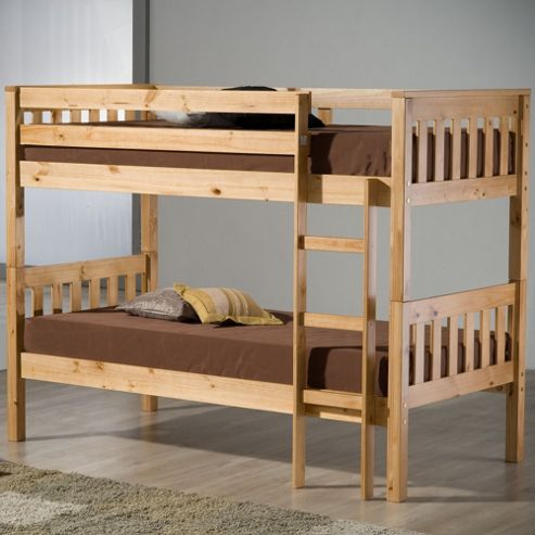 Birlea Seattle Bunk Bed Frame - Antique Pine