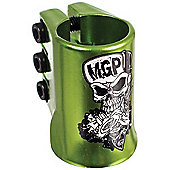Madd Gear Madd Hatter Triple HIC Scooter Clamp - Green