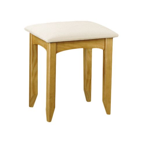 Julian Bowen Kendal Dressing Stool in Solid Pine