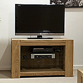 Trend 100% Solid Chunky Oak TV Unit