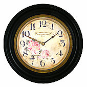 Roger Lascelles Clocks Framed Florist Dial Wall Clock