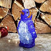 Battery Light Up Penguin LED Christmas Figure