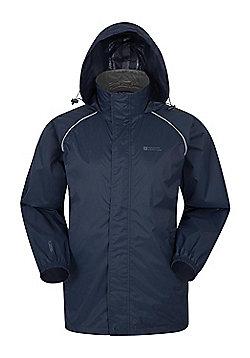 Pakka Mens Waterproof Jacket - Blue