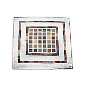 Woven Magic Simple Blocks Natural Plaids Crib Throw