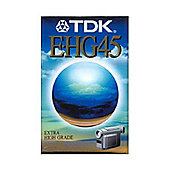 TDK EC45EHGX2 VHS Tape Twin Pack