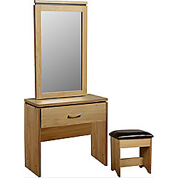 Home Essence Charles Drawer Dressing Table Set