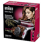 Braun Satin 7 Colour HD770 Hair Dryer