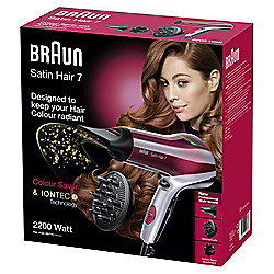 Braun HD770 Satin 7 Colour Hair Dryer