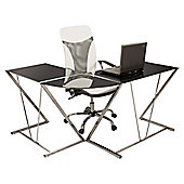 Home Essence Applegate Computer Desk - Black