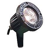Firstlight Outdoor Spike Spot Light in Black