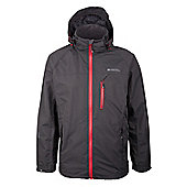 Brisk Extreme Mens Waterproof Jacket Active Coat - Grey