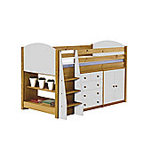 Verona Mid Sleeper Set 2 Antique With White Details