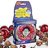 Crazy Aaron's Thinking Putty - Christmas Candy Cane - 10cm Tin - Heat Sensitive Hypercolour