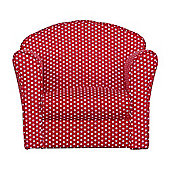 Kidsaw Mini Armchair Red/White Spots