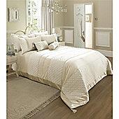 Catherine Lansfield Classique Bedspread 240x260cm Cream