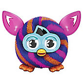 Furby Furblings - Orange Blue Diagonal Stripes