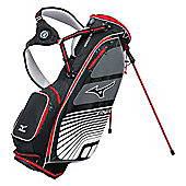 Mizuno Mens Aerolite 029 Golf Bag (Stand) in Black & Charcoal