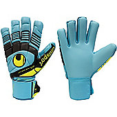 Uhlsport Eliminator Soft Hn Comp Junior Goalkeeper Gloves - Blue