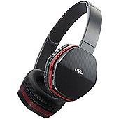 JVC Wireless Lightweight Bluetooth Headphones - Red