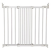 BabyDan Flexit Fit Extending Safety Gate 67cm-105.5cm in White