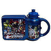 Marvel Avengers Sandwich Box and Bottle Combo