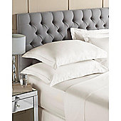 House of Cotton Egyptian Cotton Pillowcase Ivory