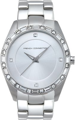 French Connection Ladies Stone Set Watch - FC1008S