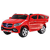 24V Twin Seat Mercedes Style Ride on Car Red
