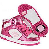 Heelys Flash 2.0 Girls/Boys Roller Skating Shoe Trainer Choose Colour JNR 12-UK7 - Pink