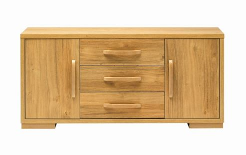 Caxton Strand Low Sideboard in Oak