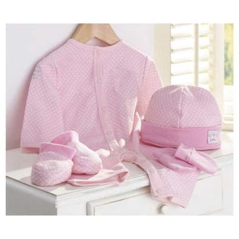 Lollipop Lane Out & About 4 Piece Gift Set - Pink
