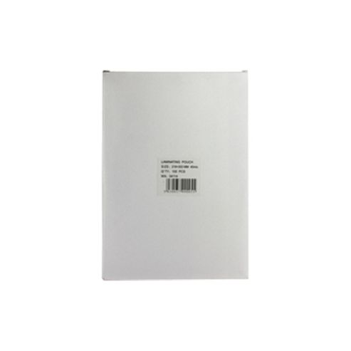 Laminating Pouch A4 Light Weight Pack of 100 WX04114