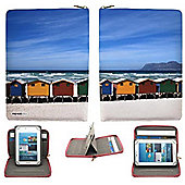 Streetslips Limited Edition Beach Huts Tablet Case Universal up to 8 Inch Vibrant Print Unique Functionality SSBH8 5060236109835