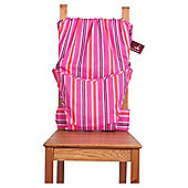 Totseat Chair Harness Highchair, Pink Candy