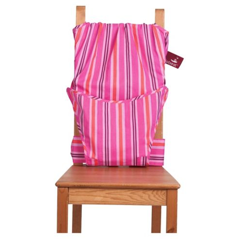 Totseat Travel Highchair, Pink Candy