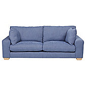 Whitstable Large 3 Seater Sofa Denim
