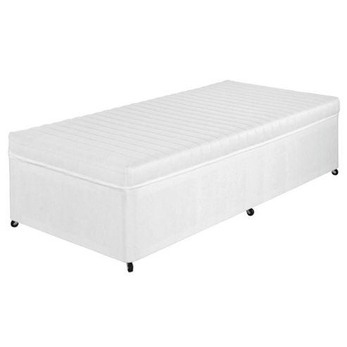Airsprung Single Divan Bed, Kids Anti Allergy and No Turn, Non-Storage