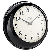 Tesco Kitchen Clock, Black