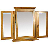 Kelburn Furniture Pine Triple Mirror