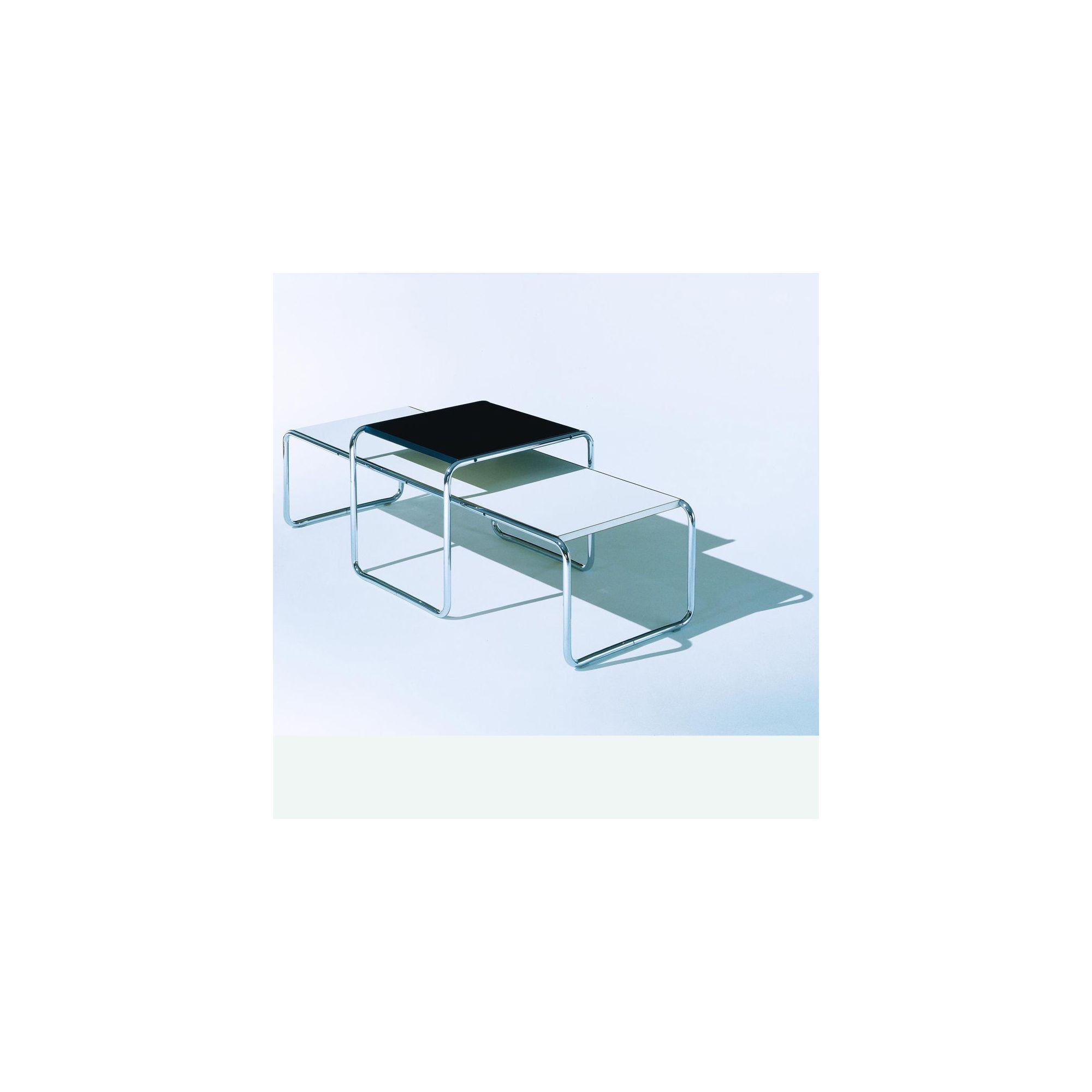 Knoll Laccio Square Table by Breuer - Quick Ship! - Black at Tesco Direct