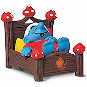 Schleich Super Smurfs Smurf in Bed