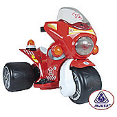 Injusa Firefighters Trimoto 6v Ride-On Bike