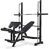 Marcy Eclipse RS3000 Olympic Half Smith Machine Weight Bench