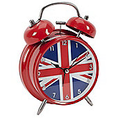 Cool Britannia Union Jack Alarm Clock
