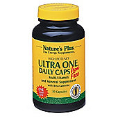 Ultra One Daily Iron Free - Total Nutrition In One Capsule A Day, 30