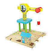 Bigjigs Rail and Road BJR111 Crane