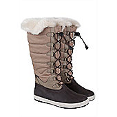 Aspen IsoGrip Womens Snow Boots - Brown