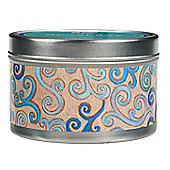 Greenleaf Seaspray Tin Tealight Candle