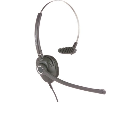 Single Ear Noise Cancelling Quick Disconnect HeaSDet