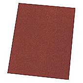 Aluminium Oxide Hand Sanding Sheets - 120 Grit - 10 Pack